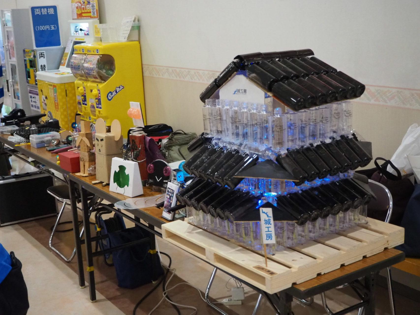 フレスポ東大阪でのイベントで焼き芋の実演販売!